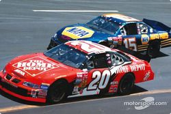 Jeremy Mayfield y Jeff Gordon