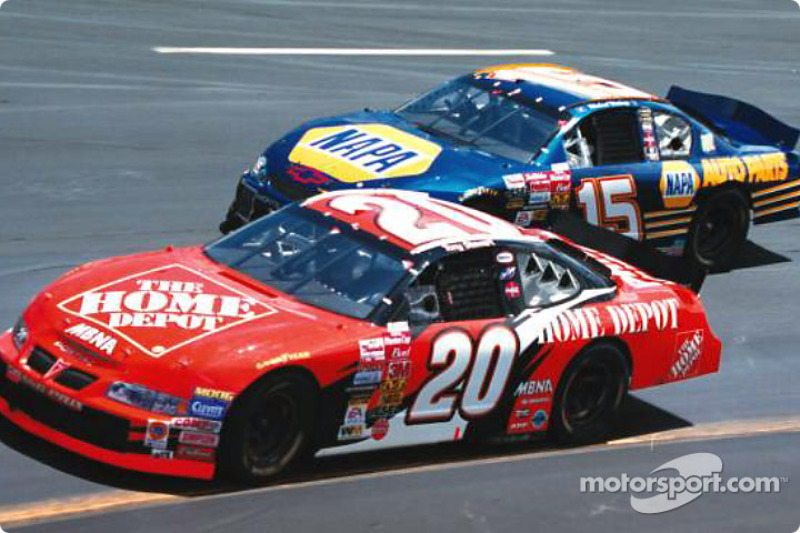 Jeremy Mayfield y Jeff Gordon