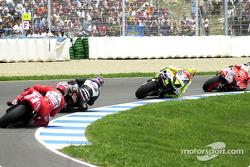 Renn-Action beim GP Spanien 2002 in Jerez