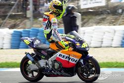 Vuelta triunfal de Rossi