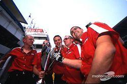 Coloni Motorsport celebrating