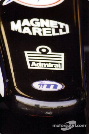 Punta de la nariz de un Minardi
