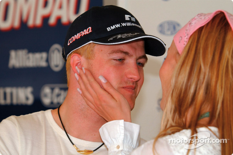 ...который выступал в составе многообещающего альянса Williams-BMW вместе с Ральфом Шумахером