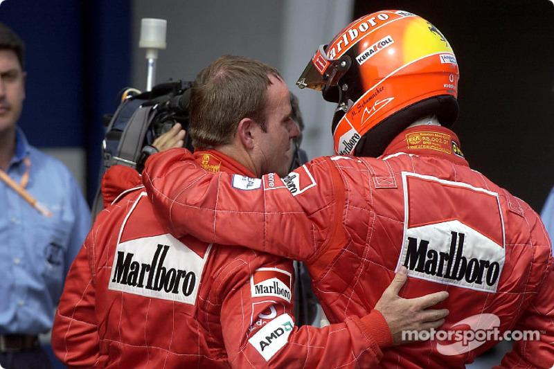 Gran Premio de Austria 2002, EL SACRIFICIO DE BARRICHELLO