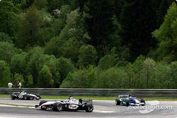 Kimi Raikkonen and Felipe Massa