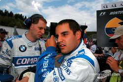 Juan Pablo Montoya sur la grille