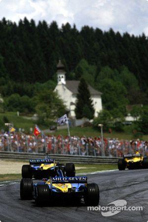 Los dos Renault F1