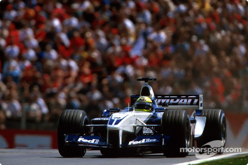 Команда из Гроу в том сезоне была едва ли не быстрее всех на одном быстром круге, но в гонках скорость Williams регулярно куда-то пропадала