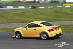 Laurent Aiello driving the Abt TT Limited