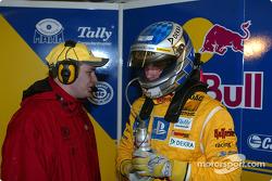 Franco Chiocchetti und Martin Tomczyk, Abt Sportsline, Abt-Audi TT-R