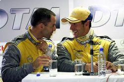 Alain Menu y Manuel Reuter