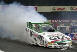 John Force does his burn-out