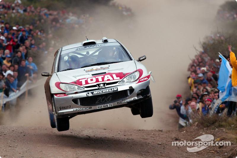 2002: Маркус Гронхольм, Peugeot 206 WRC