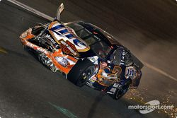 Rusty Wallace's bid for the big cash ended on lap 14 when he was caught up in the first wreck of the