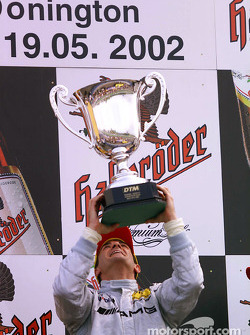 1. Jean Alesi, Team HWA, AMG-Mercedes CLK-DTM 2002