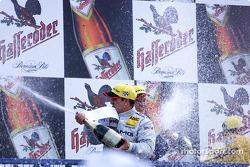 Podium: Jean Alesi, Team HWA, AMG-Mercedes CLK-DTM 2002