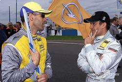 Alain Menu and Jean Alesi