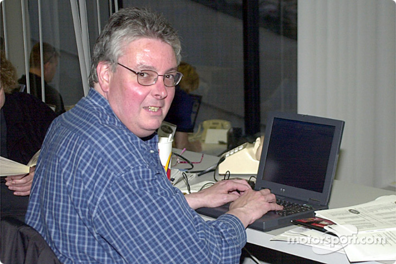 Jim Donnelly, journaliste de Motorsport.com