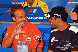 Wednesday basın toplantısı: Rubens Barrichello ve Juan Pablo Montoya