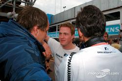 Ralf Schumacher talking ve Gerhard Berger