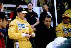 Pilotos Abt Sportsline: Karl Wendlinger, Martin Tomczyk, Laurent Aiello y Christian Abt