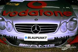 Luciendo malvado: Mercedes-Benz CLK-DTM