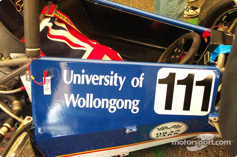 University of Wollongong, cockpit
