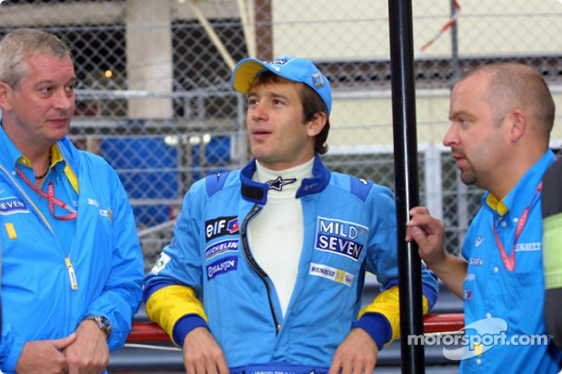 JarnoTrulli, Pat Symmonds and Mike Gascoyne