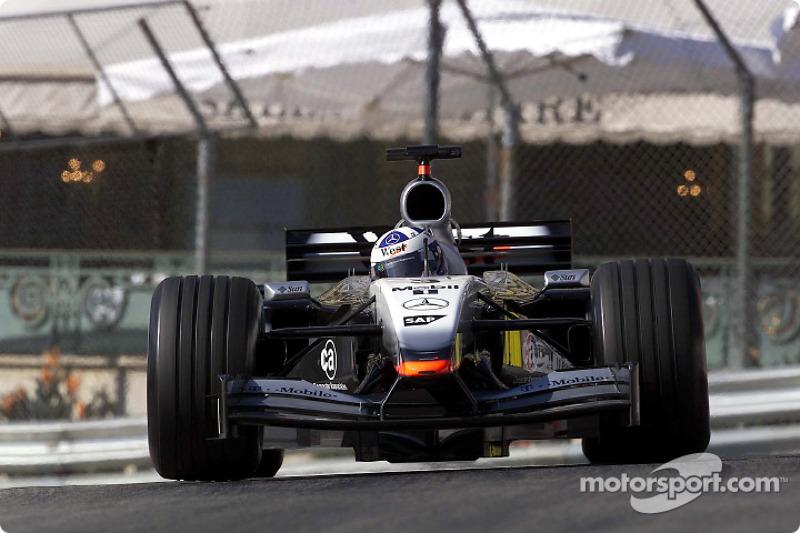 David Coulthard - 12 victorias con McLaren