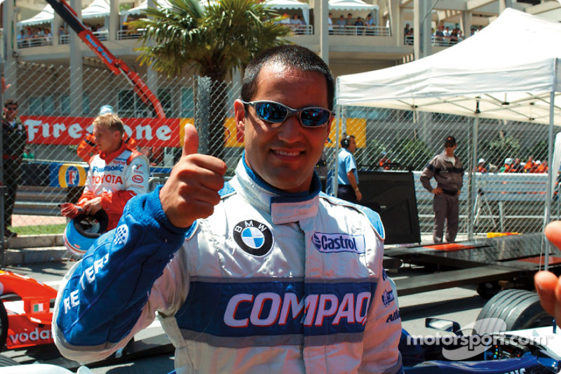 Juan Pablo Montoya, Williams, en 2002