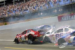 The accident between Josh Richeson and Jeff Fultz