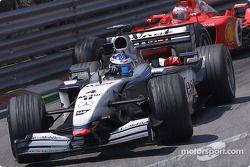 Kimi Raikkonen and Rubens Barrichello