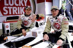 Olivier Panis et Jacques Villeneuve