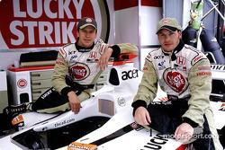 Olivier Panis ve Jacques Villeneuve