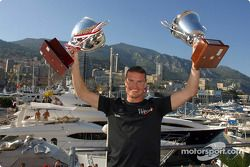 David Coulthard fête sa victoire