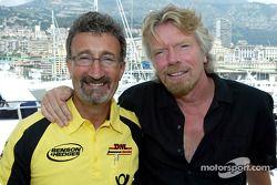 Eddie Jordan et Richard Branson