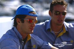Jarno Trulli ve Jenson Button