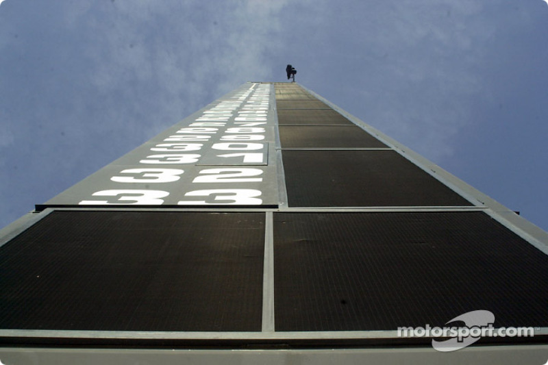 The race status tower