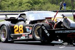 La Corvette endommagée de Lou Gigliotti