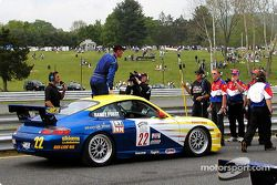 Race winner Randy Pobst