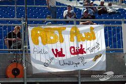 Message des fans