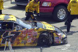 Matt Kenseth a un problème de pneus