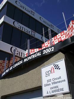 Torre de control del Circuito Gilles-Villeneuve