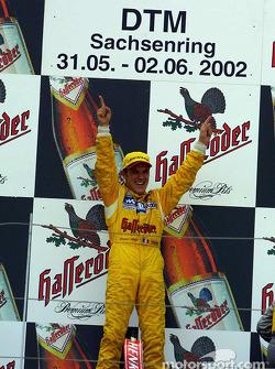 El ganador de la carrera, Laurent Aiello