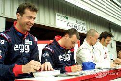 Matt Neil, Paul O'Neill, James Thompson and Yvan Muller