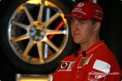 Bridgestone Motorsport / Scuderia Ferrari press conference: Michael Schumacher