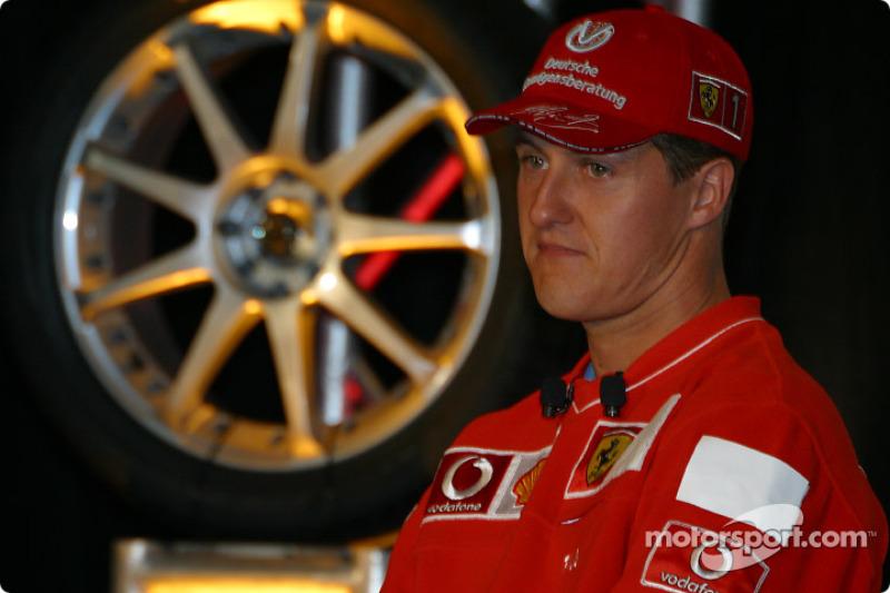 Conferencia de prensa Bridgestone Motorsport / Scuderia Ferrari: Michael Schumacher