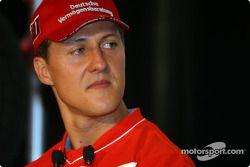 Bridgestone Motorsport / Scuderia Ferrari basın toplantısı: Michael Schumacher