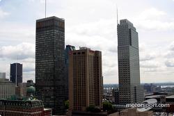 El centro de Montreal
