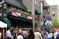 Grand Prix festivities, Crescent Street